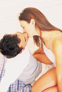 le baiser en amour