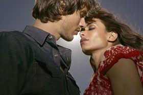 comment embrassez une femme